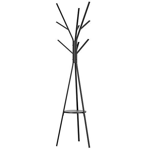Homfa 180cm Garderobenständer Gaderobe Kleiderständer freistehende Garderobe in Baumform