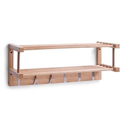 Zeller 13583 Wandgarderobe Bamboo