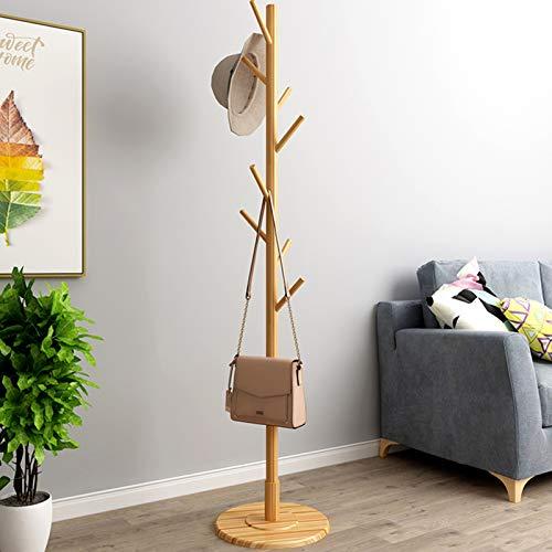 Liukouu GarderobenstäNder Aus Holz Vintage Baumform