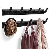 Garderobenhaken, Kleiderhaken für Wand und Tür, stabile Garderobenleiste...